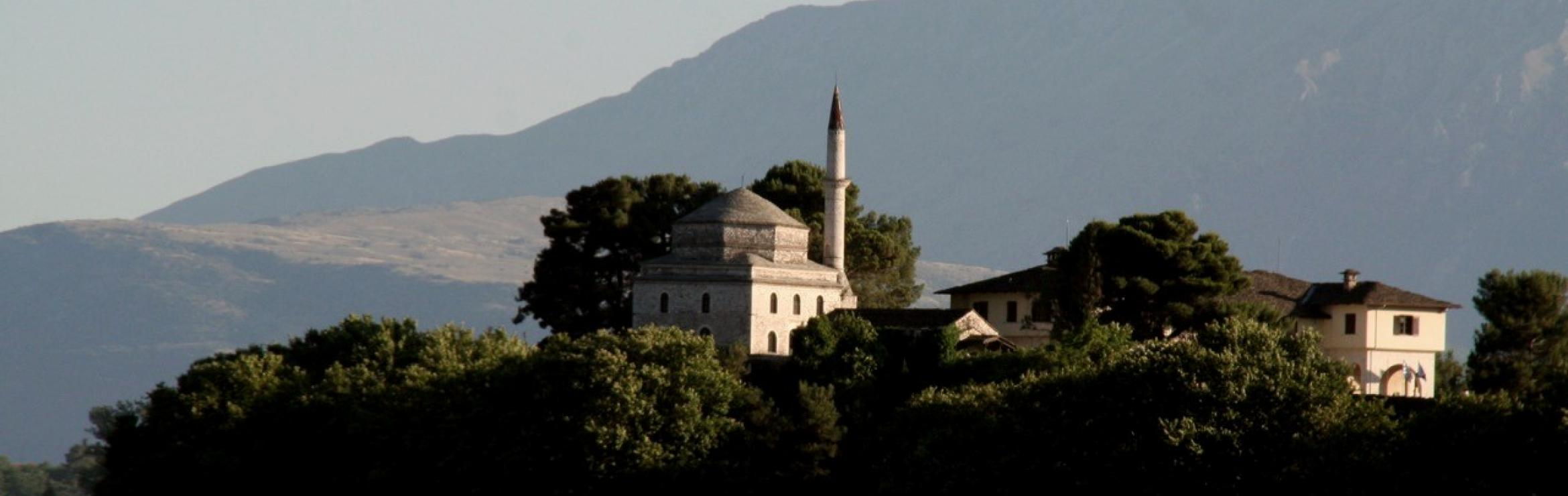 Ali Yaycioglu, (2016). Ioannina Lake and Ali Pasha Mosque, Greece.